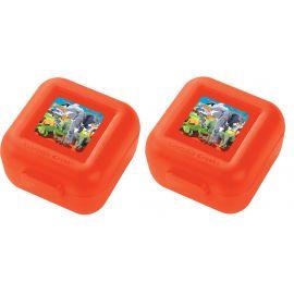 Set de 2 boîtes à goûter - Safari