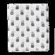 set de 2 langes d'emmaillotage (120x120)