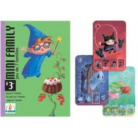 super jeu de cartes 'mini family'