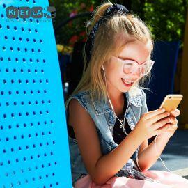 Lunettes enfant pour écran CraZyg-Zag SCREEN BuZZ - Pink