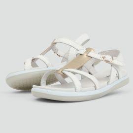 Chaussures KID+ Craft - Pixie White + Misty Gold